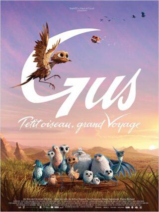 Affiche Gus petit oiseau, grand voyage