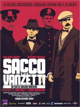 affiche Sacco et Vanzetti
