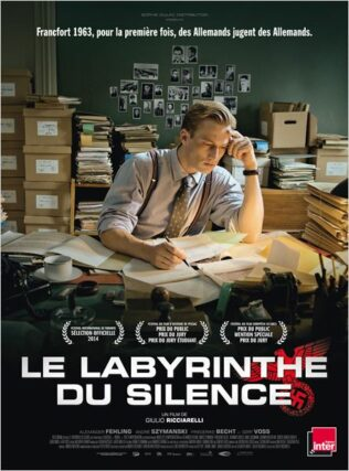 Affiche le labyrinthe du silence