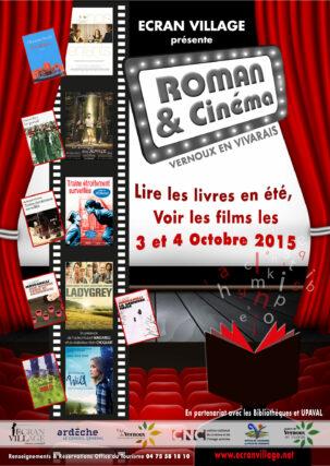 Affiche Roman et Cinema 2015